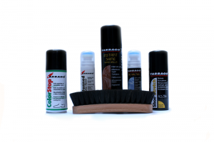 Productos y accesorios para el cuidado del calzado